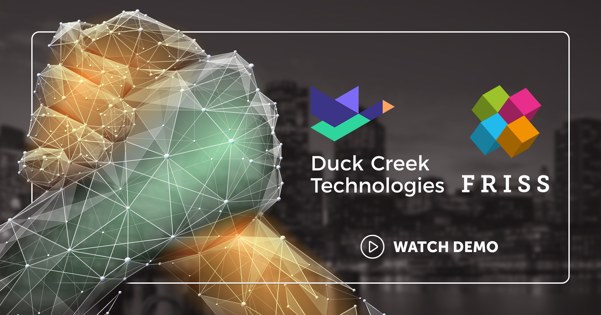 Duck Creek Partnership Image with play button
